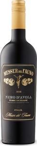 Messer Del Fauno Nero D'avola 2016, Igt Terre Siciliane Bottle