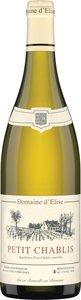 Domaine D'élise Petit Chablis 2016, Petit Chablis Bottle