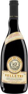 Velletri Terre Dei Volsci Riserva 2012, Velletri Doc Bottle