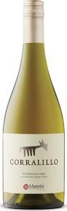 Matetic Corralillo Chardonnay 2015, San Antonio Valley Bottle
