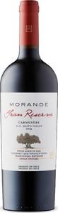 Morandé Gran Reserva Carmenère 2014, Maipo Valley Bottle