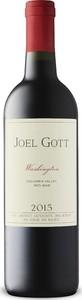 Joel Gott Washington Red 2015, Columbia Valley Bottle