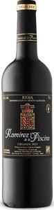Ramirez De La Piscina Crianza 2013, Doca Rioja Bottle