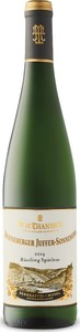 Brauneberger Juffer Sonnenuhr Riesling Spätlese 2014, Prädikatswein Bottle