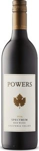 Powers Spectrum 2014, Columbia Valley Bottle