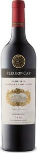 Fleur Du Cap Unfiltered Cabernet Sauvignon 2014, Wo Stellenbosch Bottle