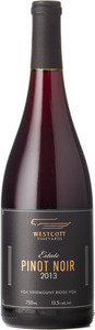 Westcott Estate Pinot Noir 2015, VQA Vinemount Ridge Bottle