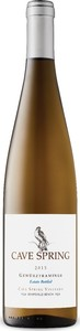 Cave Spring Estate Bottled Gewurztraminer 2014, Cave Spring Vineyard, VQA Beamsville Bench, Niagara Escarpment Bottle