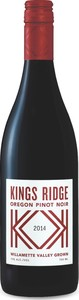 Kings Ridge Pinot Noir 2015, Willamette Valley Bottle