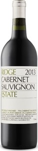 Ridge Estate Cabernet Sauvignon 2014, Monte Bello Vineyard, Santa Cruz Mountains Bottle