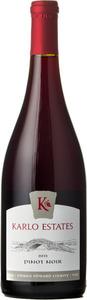 Karlo Estates Pinot Noir Estate Grown Wild Ferment 2016, VQA Prince Edward County Bottle