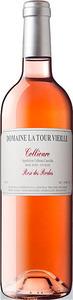 Domaine La Tour Vieille Collioure Rosé Des Roches 2016 Bottle