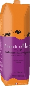 French Rabbit Cabernet Sauvignon Carton 2016, Pays D' Oc (1000ml) Bottle