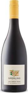 Sperling Vineyards Pinot Noir 2016, BC VQA Okanagan Valley Bottle
