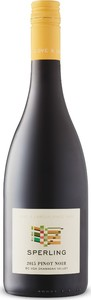Sperling Vineyards Pinot Noir 2015, BC VQA Okanagan Valley Bottle