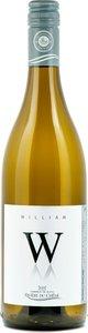 Vignoble De La Rivière Du Chêne Cuvée William Blanc 2017 Bottle