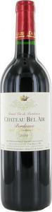 Chateau Bel Air 2015, Bordeaux Bottle