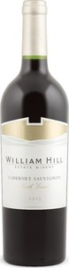 William Hill Cabernet Sauvignon 2015, North Coast Bottle