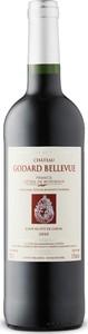 Château Godard Bellevue 2010, Ac Côtes De Bordeaux   Francs Bottle