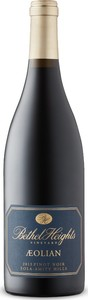 Bethel Heights Aeolian Pinot Noir 2013, Eola Amity Hills, Williamette Valley Bottle