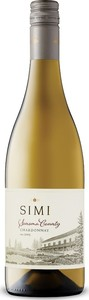 Simi Chardonnay 2017, Sonoma County Bottle