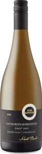 Kim Crawford Small Parcels Favourite Homestead Pinot Gris 2016, Awatere Valley, Marlborough, South Island Bottle