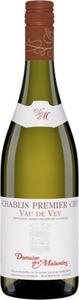 Domaine Des Malandes Chablis Premier Cru Vau De Vey 2015, Chablis Bottle