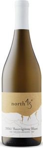 North 43 Sauvignon Blanc 2016, VQA Niagara Lakeshore Bottle
