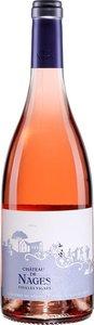 Château De Nages Vieilles Vignes Rosé 2017, Ap Costières De Nîmes Bottle