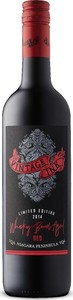Vintage Ink Whisky Barrel Aged Dark Red 2014, VQA Niagara Peninsula Bottle