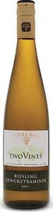 Strewn Two Vines Riesling Gewurztraminer 2017, VQA Niagara Peninsula Bottle