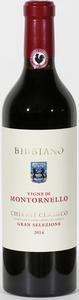 Bibbiano Chianti Classico Gran Selezione Montornello 2014 Bottle