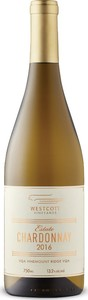 Westcott Vineyards Estate Chardonnay 2016, VQA Vinemount Ridge Bottle
