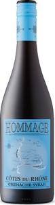 Hommage Cotes Du Rhone 2016 Bottle