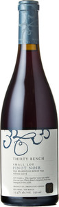 Thirty Bench Small Lot Pinot Noir 2015, VQA Beamsville Bench Bottle