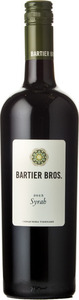 Bartier Bros. Syrah Cerqueira Vineyard 2016, Okanagan Valley Bottle