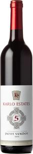 Karlo Estates The 5th Petit Verdot 2015, Niagara Peninsula Bottle