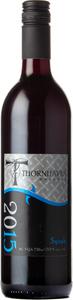 Thornhaven Syrah 2015, BC VQA Okanagan Valley Bottle