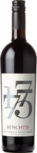 Bench 1775 Cabernet Franc Malbec 2015, Okanagan Valley Bottle