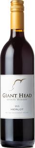 Giant Head Estate Winery Merlot 2015, Okanagan Valley Bottle