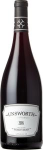 Unsworth Pinot Noir 2016, Vancouver Island Bottle