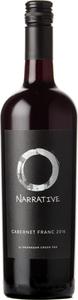 Narrative Cabernet Franc 2016, Okanagan Valley Bottle