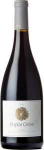 Poplar Grove Syrah 2015, Okanagan Valley Bottle