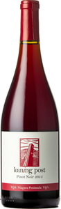 Leaning Post Pinot Noir 2015, VQA Niagara Peninsula Bottle