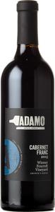 Adamo Growers Series Cabernet Franc Wismer Foxcroft Vineyard 2015, VQA Twenty Mile Bench Bottle