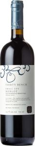 Thirty Bench Small Lot Merlot 2015, VQA Beamsville Bench Bottle