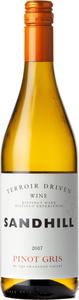 Sandhill Terroir Driven Wine Pinot Gris 2017, Okanagan Valley Bottle