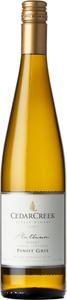 CedarCreek Platinum Block 7 Pinot Gris 2017, Okanagan Valley Bottle