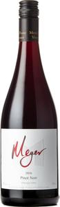 Meyer Pinot Noir 2016, Okanagan Valley Bottle