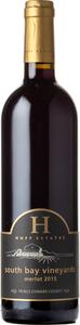 Huff Estates South Bay Vineyards Merlot 2015, Prince Edward County Bottle